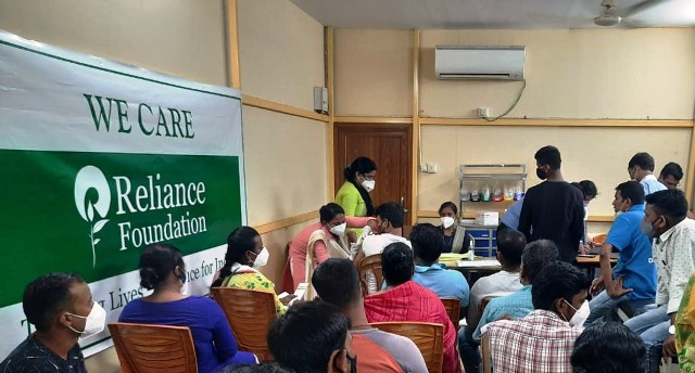 Reliance Foundation extends support for community vaccination in Odisha